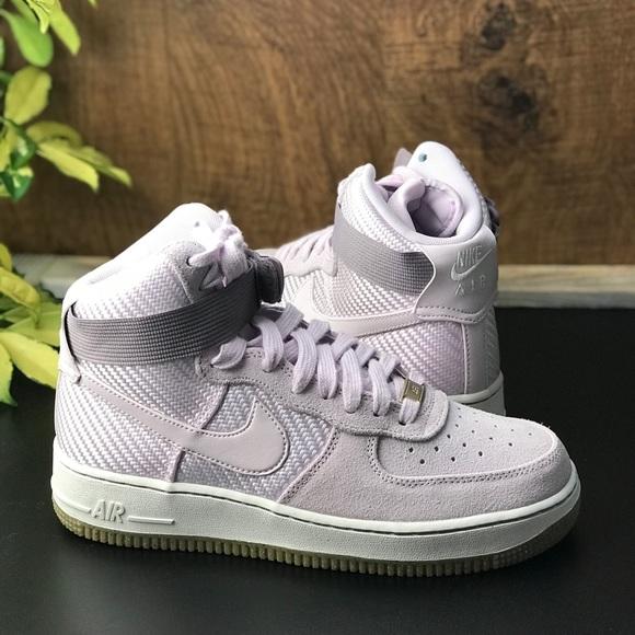 ed7da4a2c9ad NWT Nike Air Force 1 Hi PRM Bleached Lilac WMNS